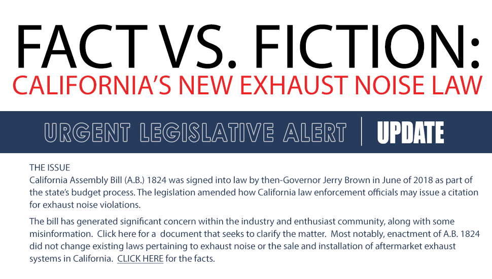 california exhaust law change.org